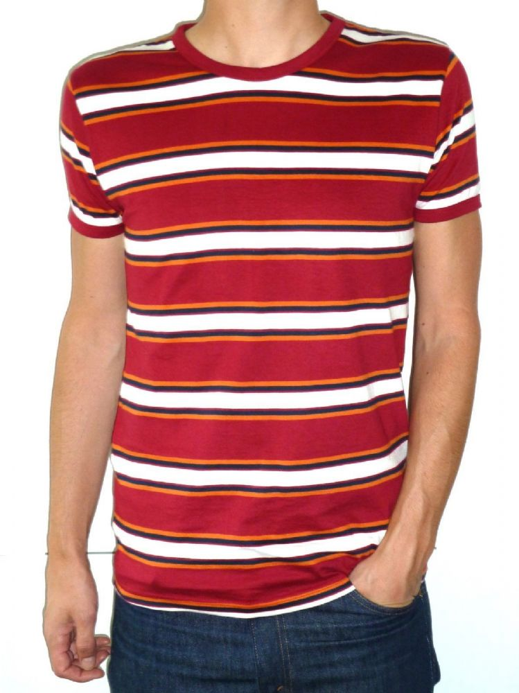 Mens Striped Tee Shirts